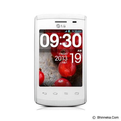 LG Optimus L1 Single II [E410] - White - Smart Phone Android